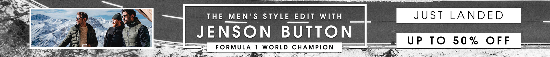 Jenson Button Up To 50% Off