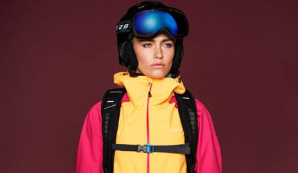 Womens outdoor clothing