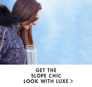 Dare 2b blog - Get the slope chic look with luxe