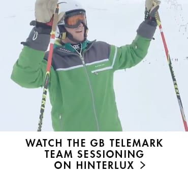 Dare 2b blog - Watch the GB telemark team sessioning on hinterlux