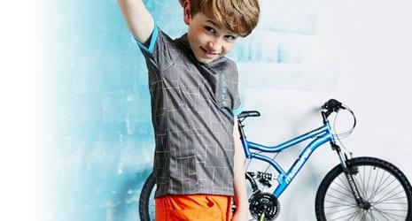 kids' cycling clothing